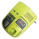 P117 Cargador de repuesto para Ryobi 12-18V NI-CD NI-MH Batería de iones de litio para Ryobi Power Tools