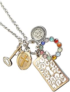 Premier Designs Jewelry Heaven Necklace in Antiqued Silver & Gold RV$38