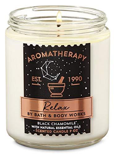 Bath and Body Works - Vela aromaterapia de manzanilla Negra