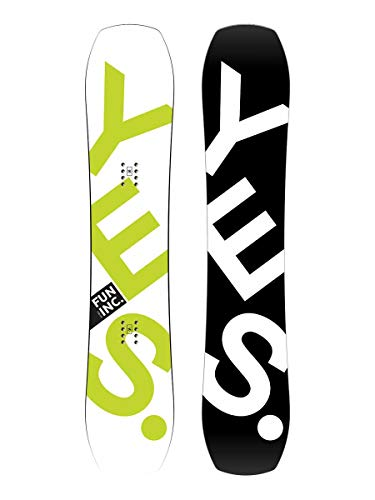 YES Ja. Fun Inc. Snowboard–Kid 's, Einfarbig, 127cm