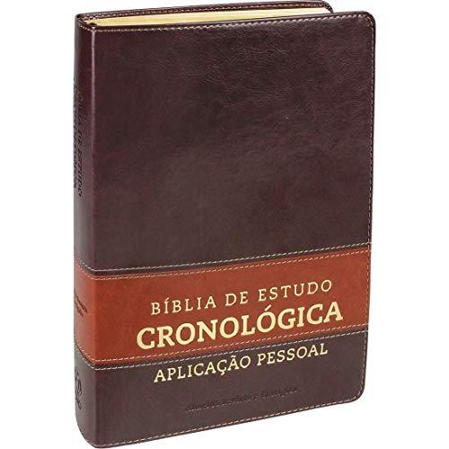 Bíblia de Estudo Cronológica Aplicação Pessoal - Capa Marrom