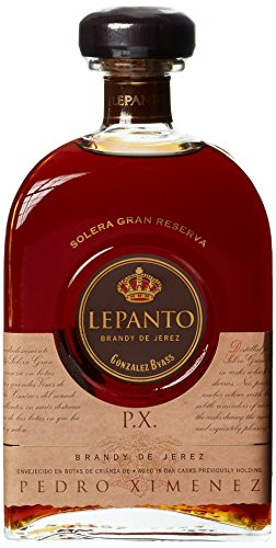 Lepanto, Solera Gran Reserva Brandy de Jerez P.X., Bodega González Byass,in Geschenkverpackung (1 x 0.7 l)
