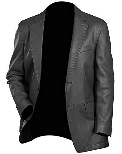ZERAAFAT Chaquetas especiales de cuero para motorista, color negro y marrón, para hombre, chaqueta de motocicleta, chaqueta de cuero bombardero