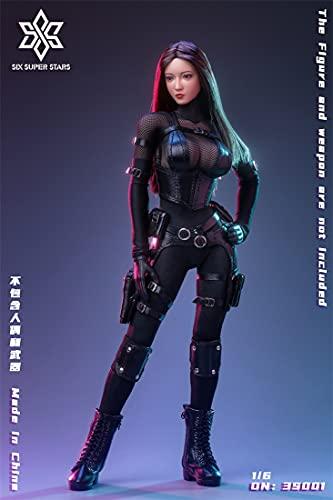 Z&L·DOLL 1/6 フィギュア 素体 女性 服 兵士 アクション 六芒星 3S001
