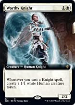Magic: The Gathering - Worthy Knight - Extended Art - Throne of Eldraine