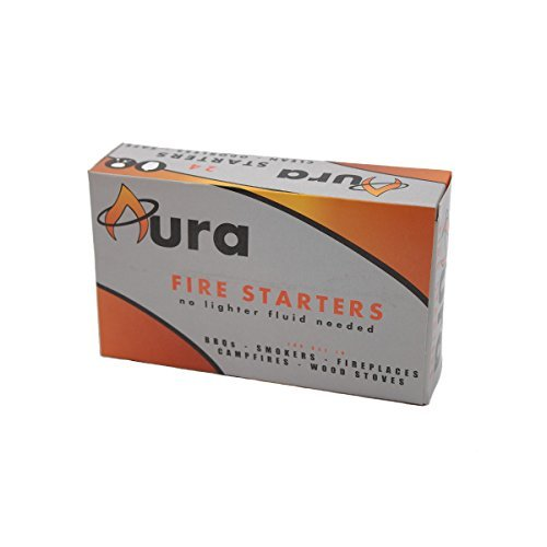 Aura Outdoor Products All Natural Charcoal Fire Starters,...