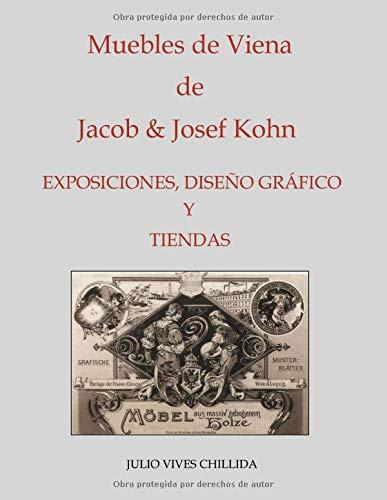 Muebles de Viena de Jacob & Josef Kohn. Exposiciones, diseño gráfico y tiendas.
