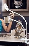 Soporte de teléfono móvil en vivo luz de fondeo complementaria belleza luz de relleno artefacto emisión en directo de luz LED anillo selfie anillo de luz for el teléfono Selfie de teléfono móvil