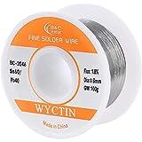 WYCTIN 0.8mm 100G 60/40 Rosin Core Tin Lead Roll Soldering Solder Wire