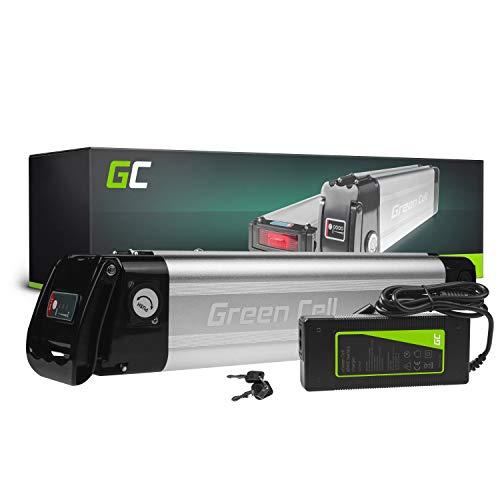 Green Cell® E-Bike Akku 36V 10.4Ah Li-Ion Pedelec E-Faltrad Fahrradakku Silverfish Batterie mit Ladegerät für Cyco Frisbee Bikes Kreidler MiFa Prophete Rex Trio Zündapp