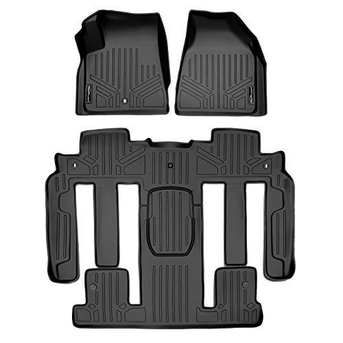 MAXLINER Custom Fit 2 Row Black Floor Mat Liner Set Compatible With...