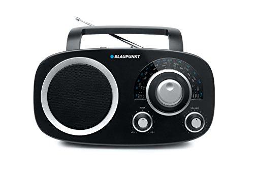 Blaupunkt BSA-8000 Table-Top Multi-Band analoges Radio mit Netzteil und Weltempfänger schwarz