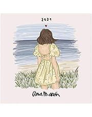 Oficjalny kalendarz ścienny Ana Marin 2021 30 x 20 cm (16 miesięcy) kalendarz rodzinny na rok 2021