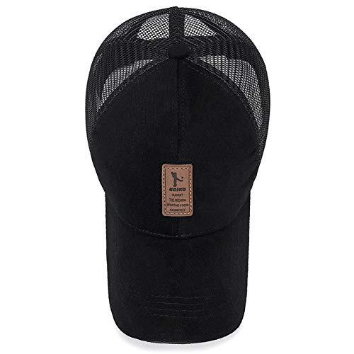 N / A Baseballmütze Unisex-Kappe, Herren-Golfkappe, Basketballkappe, Baumwollkappe, verstellbare Kappe mit Rückendeckel, Herren- und Damenkappe, Papas Briefkappe