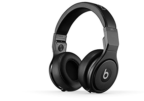 Beats by Dr. Dre Pro Over Ear Headphones - Infinite Black (Certified Refurbished)