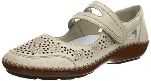 Rieker Crush Womens Casual Shoes 40 M EU/ 9-9.5 B(M) US Beige