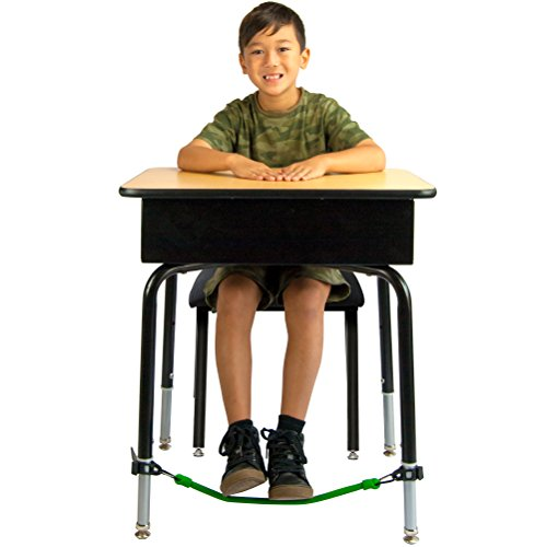 Kick Bands Desk Fidget Bands for Kids - Alternative Flexible Seating Classroom Supplies for Elementary School Students - ADHD Foot Sensory Fidgets for Classroom Desks by Solace
