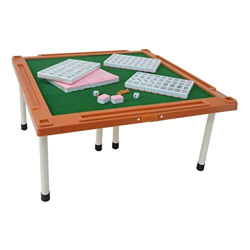 ZCX 144 PCS Mini Mahjong Set Dados Melamine Travel Doble Portátil Portátil Multijugador Juego Entretenimiento Casual Party Actividades Juego Mah Jong (Color : Pink)