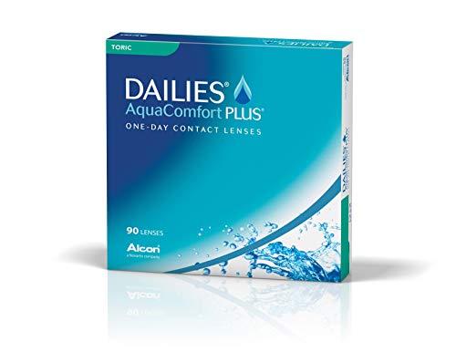 Dailies AquaComfort Plus Toric Tageslinsen weich, BC 8.8 mm, DIA 14.4 mm, CYL -0.75, 90 Stück