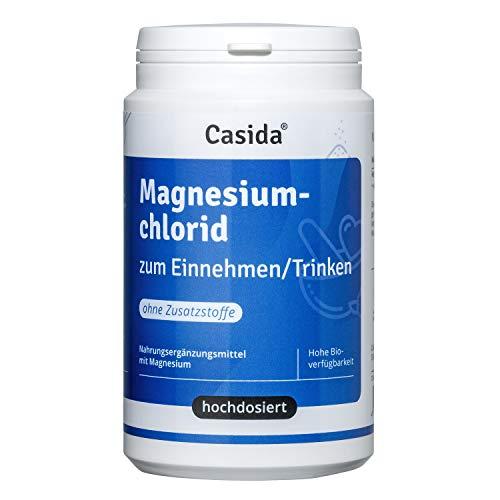 Casida - Poudre de Chlorure de Magnésium - original Zechstein magnésium - la qualité des pharmacies - 210 g