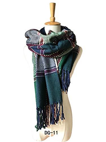 TaoRan Plaid sjaal dames herfst en winter warme Britse paar plaid sjaal airconditioning sjaal reis verdikt slabbetje