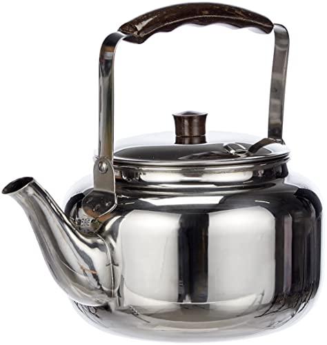 Ibili 610201 - Cafetera Pava 'Clásica' 1,75 l Inox