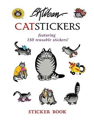B. Kliban Cat Stickers Sticker Book by Pomegranate