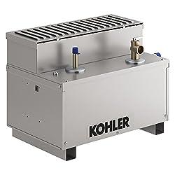 commercial KOHLER K-5533-NA 5533-NA Animation Steam Generator, 13 kW, 13 kW, Aluminum kohler home generators