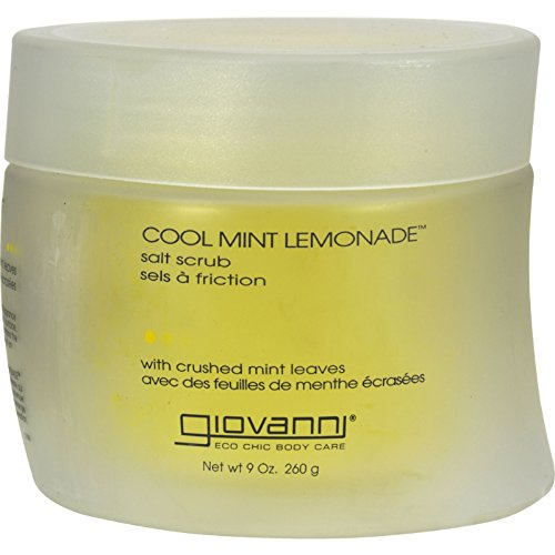 Giovanni Body Scrub Salt Cooling Mint Lemonade 9 oz by Giovanni Cosmetics, Inc.