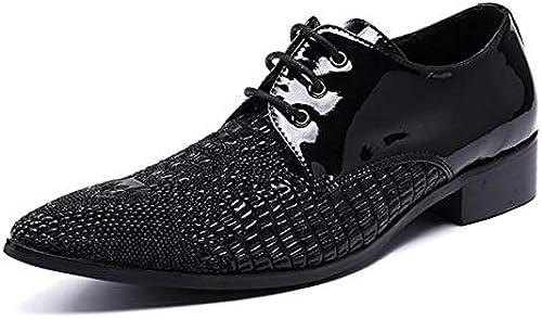 LOVDRAM Chaussures En Cuir Pour Hommes Nouveaux Nouveaux Hommes Chaussures Mocassins De Luxe Véritable En Cuir Verni Chaussures De Bal Italienne Chaussures Pour Hommes Robe Habillée Parti Chaussures De Mariage  commandez maintenant profitez de gros rabais