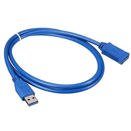 Hongyans Premium - Cable alargador USB 3.0 A de 1,5 FT (de macho a hembra)