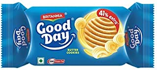 Britannia Good Day Butter Cookies 75g (Pack of 6)