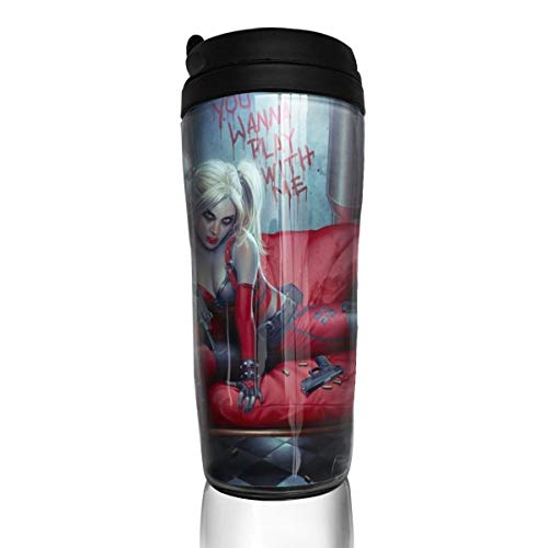 41mVraLVz2L Harley Quinn Travel Mugs