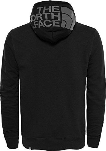 The North Face Drew Peak Light Sweatshirt, Hombre, Negro (TNF Black), XXL