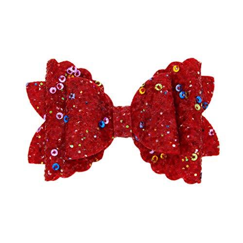 Pince à cheveux noeud pour enfants papillon (noir)