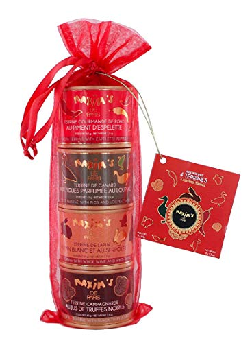 Coffret de 4 terrines assorties 65 g