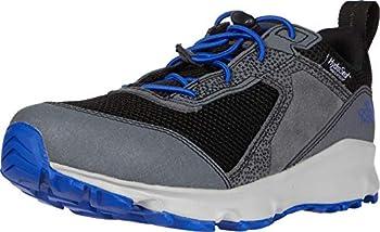 The North Face Jr Hedgehog Hiker II Waterproof Hiking Boots Zinc Grey/TNF Black 5.5