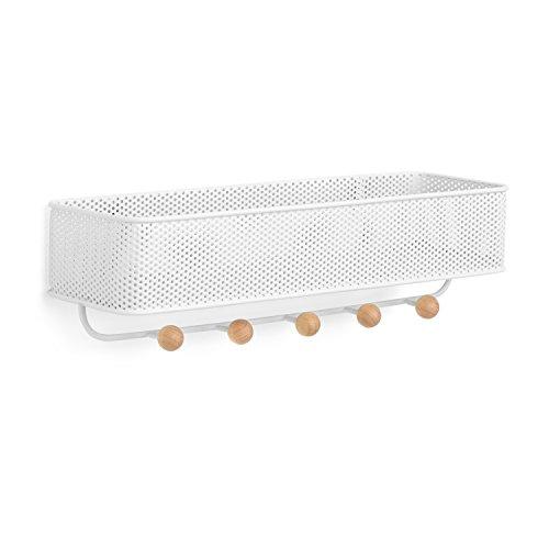 Umbra Organizer Weiß Estique Aufbewahrung Weiß, Metall, (32 x 9 x 9 cm)