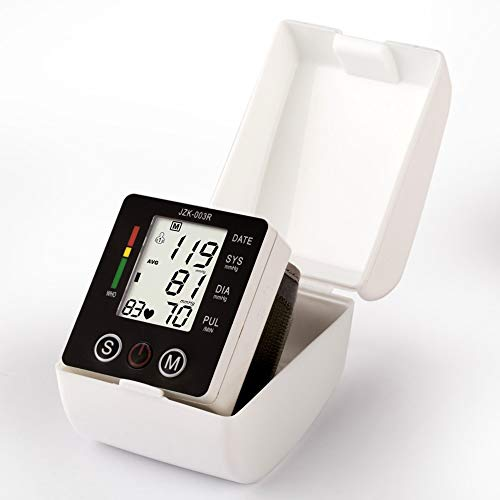 JERKEY Home Intelligent Precision sphygmomanometer Automatic Wrist Blood Pressure Monitor Electronic Health Monitoring Best Gift for Parents