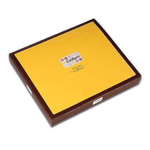 Esther 24er Klassikpackung - 280g Trüffel und Pralinen mit Alkohol   edles Geschenk für Weihnachten, Ostern, Vatertag oder Muttertag