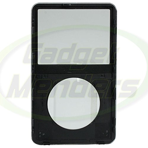 Replacement Front Panel For Apple iPod Video 5th Gen (Black)