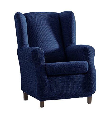 Eysa Aquiles elastisch sofa überwurf ohrensessel farbe 03-blau, Polyester-Baumwolle, 70-90cm/60-80cm/90-110 cm