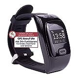 Tellimed Solino - Reloj de emergencia con GPS para personas mayores, fiable y fácil de usar para la...