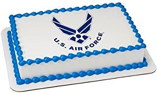 U.S. Air Force Licensed Edible Cake Topper #8431 by DecoPac