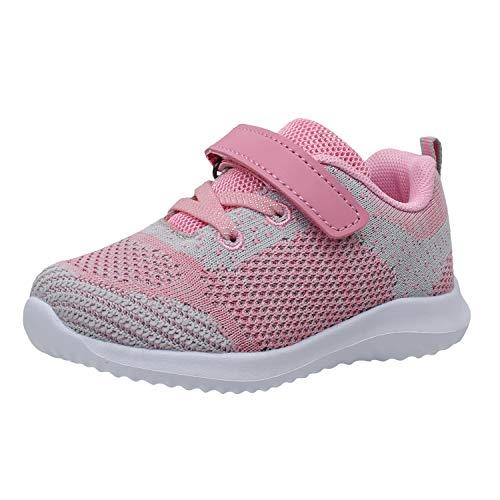 AICARE Laufschuhe Kinder Jungen Mädchen Sportschuhe Atmungsaktiv Leicht Turnschuhe Klettverschluss Outdoor Fitnessschuhe Sneakers für Gym Indoor Unisex-Kinder
