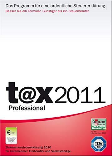 t@x 2011 Professional (für Steuerjahr 2010)