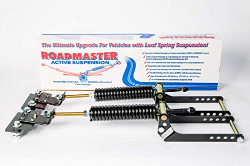 Roadmaster Active Suspension Helper Spring Assist #3610-HD for Dodge 08-15 Dodge 2500 & 3500(Rear Shackle Swinging from Top Down Only)