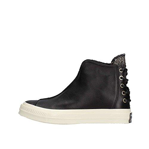 Converse CTAS 70 Punk Boot Hi Mens Skateboarding-Shoes 157625C_5 - Black/Egret (5 B US, Black/Black/Egret)