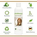 Shampoing pour chien | bio | sans substance chimique et savon | hypoallergénique | anti-démangeaisons | au ghassoul marocain d'origine | 250ml | pour poils longs et courts