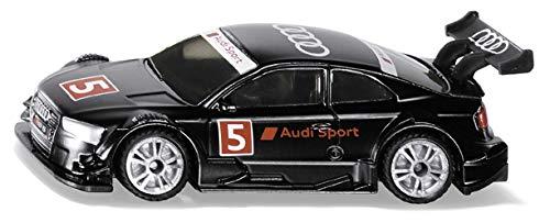 Siku 1580, Audi RS 5 Racing Rennwagen, Metall/Kunststoff, Multicolor, Großer Heckflügel, Spielzeugfahrzeug für Kinder